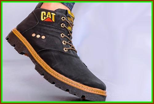 خرید ارزان قیمت کفش مردانه ساق دار cat کاترپیلار